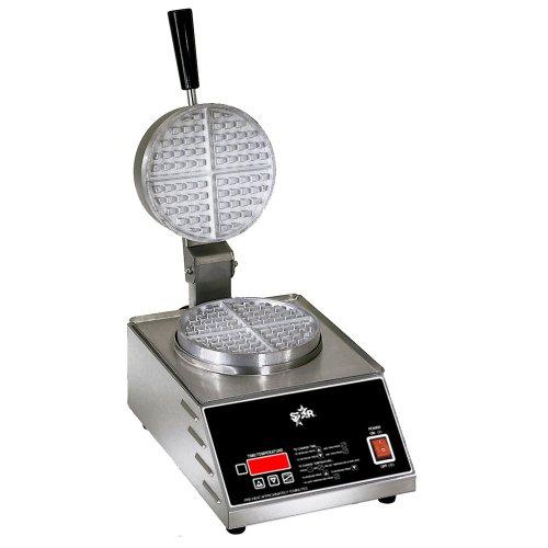 Star Mfg. 7″ Single Round Belgian Waffle Baker
