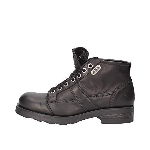 oXs - Anfibio Frank 1900 Mid Leather Black