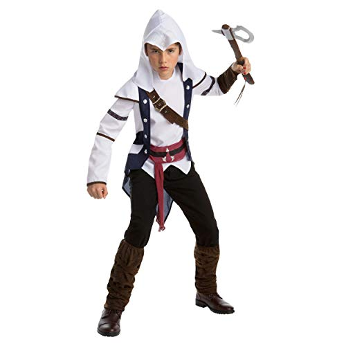 DEGUISE TOI - Déguisement Classique Connor - Assassins Creed Adolescent - 10-12 Ans (146 cm)