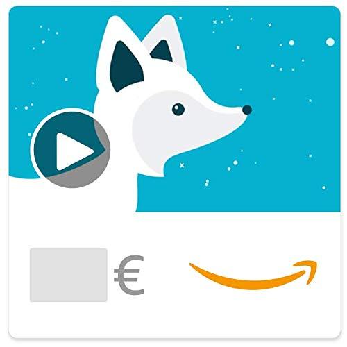 Digitaler Amazon.de Gutschein mit Animation (Weihnachtsfuchs)