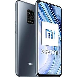 "Xiaomi Redmi Note 9 Pro - Smartphone de 6.67"" DotDisplay (Cámara cuádruple de 64 MP con IA, Qualcomm SnapdragonTM 720G, Batería de 5020mAh, 30 W de carga rápida), gris"