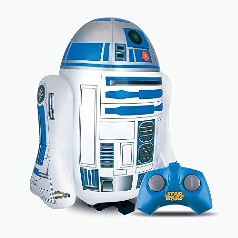 GUIZMAX Star Wars Figürchen R2D2 Fernbedienung aufblasbar klangreich