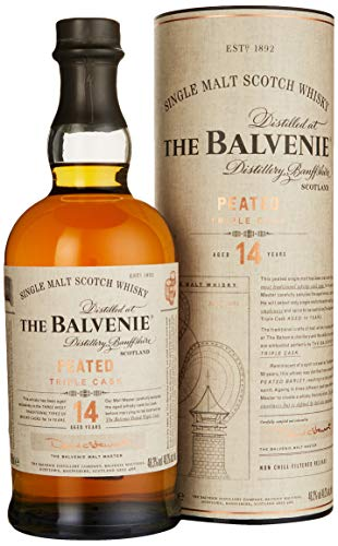 Balvenie 14 Years Peated Triple Cask Single Malt Scotch Whisky (1 x 0.70 l)