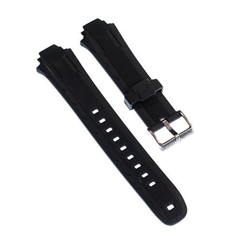 Calypso cinturino per orologio, in poliuretano, nero, per orologi Calypso K5625 e K5616