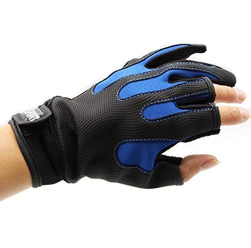 Traje de buceo de neopreno de cinco dedos a prueba de frío, guantes utilizados para buceo, esnórquel, remo, surf, kayak, kayak, buceo, pesca, negro, L