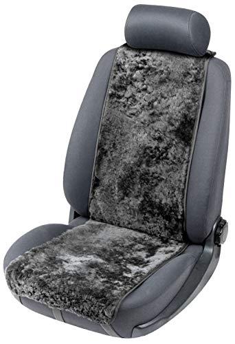 Walser 20012 Sitzaufleger aus Lammfell Cosmo schwarz 12-14mm Fellhöhe, Universal