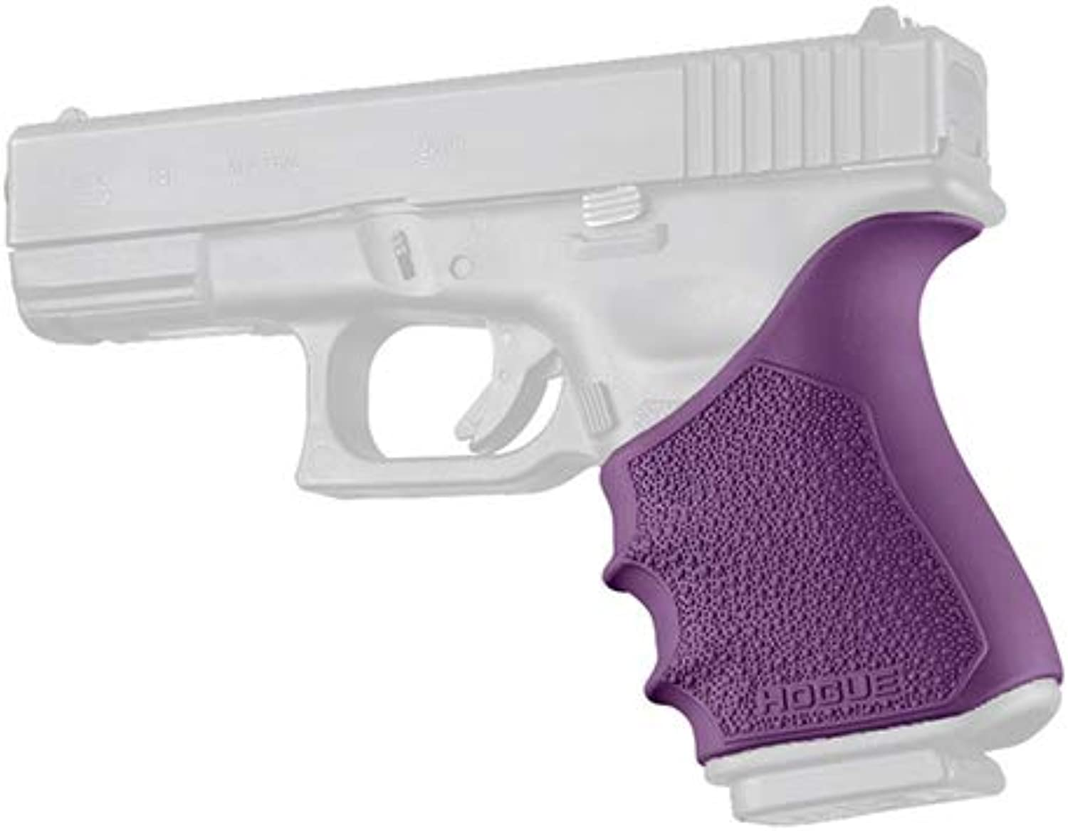 Hogue 17046 HandAll Beagreenail Grip Sleeve, Glock 19 Gen 34, Purple