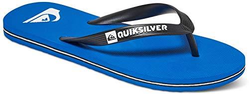 Quiksilver Molokai-Flip-Flops For Men, Zapatos de Playa y Piscina Hombre, Negro (Negro/(Xkbk Black/Blue/Black) Xkbk), 40 EU