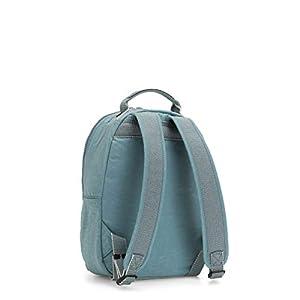 41pw7BS3qvL. SS300  - Kipling SEOUL S - Mochila escolar, 14 liters, Azul (AQUA FROST)
