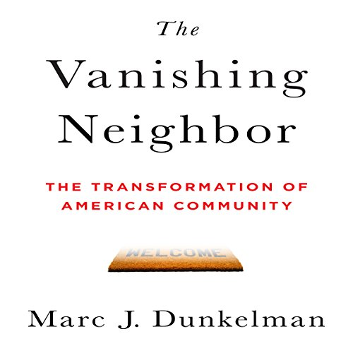 The Vanishing Neighbor audiobook cover art