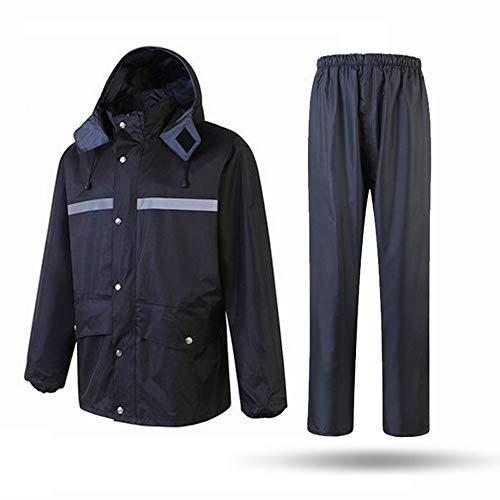 CHENSHJI reflecterende jas geschikt voor noodgevallen eerste hulp personeel landschapsarchitectuur bestrating reflecterende veiligheid regenjas capuchon Poncho zichtbaarheid Vest veiligheid kleding