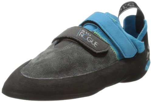 Five Ten Men's Rogue VCS Climbing Shoe,Neon Blue/Charcoal,9.5 M US