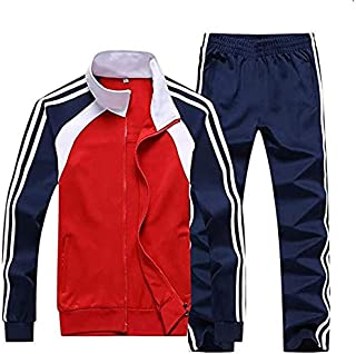 Running Jogging Suits Sports Tracksuit Casual Sweatsuit for Men Hoodies Casual Fashion Stripe