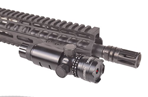Ozark Armament Red Rifle Laser - Tool-Less Adjustments - Barrel and Rail Mount Included