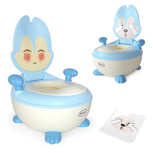 besrey vasino per bambini vasetto bambini pipi - blu