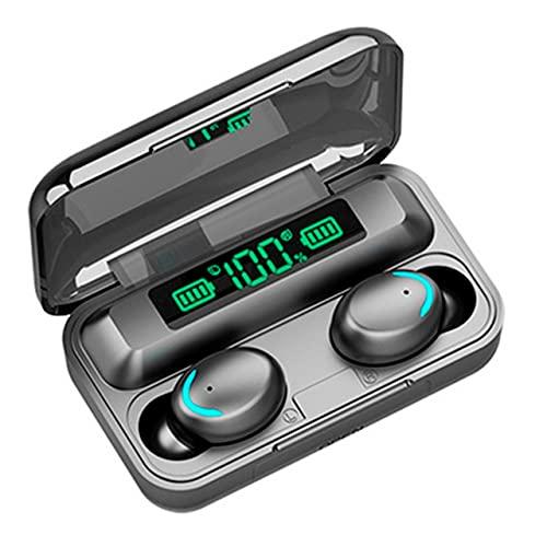 Merkeral Audífonos Bluetooth 5.0 Inalámbricos Deportivos Auriculares Control Táctil Inteligente TWS Auricular Pantalla LED de Carga Portátil Manos Libres