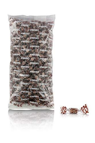 Caramelle Farbo zuckerfreie Kaffeebonbons mit Süßungsmitteln, glutenfrei, 1 kg - Lietta Light