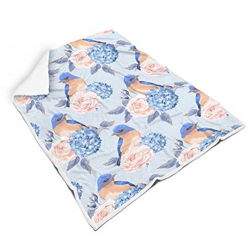 Zhenxinganghu knuffelig vierkante dekens voor op reis Laat de mensen goed slapen voor kinderen of volwassenen, elegante stijl.