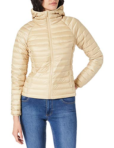 United Colors of Benetton (Z6ERJ) Giubbotto 2AOB53615 Giacca, Beige 32G, 42 Donna