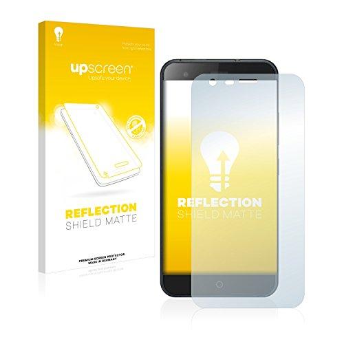 upscreen Entspiegelungs-Schutzfolie kompatibel mit Ulefone Paris X – Anti-Reflex Bildschirmschutz-Folie Matt