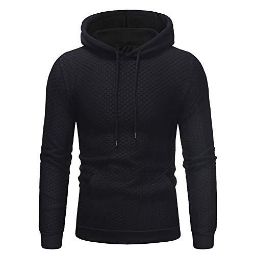 Moonuy Men's Hoodie, Men Outdoor Hoodie Men's Hoodie Sweatshirt Pullover Men's Long Sleeve Autumn Winter Casual Sweatshirt Hoodies Top Blouse