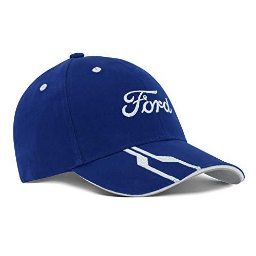 Ford Lifestyle Collection - Casquette de Baseball - Homme Bleu bleu taille unique