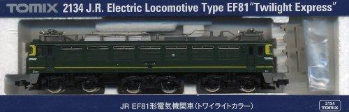 J.R. Electric Locomotive Type EF81 [Twilight Express] (Model Train)