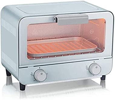 Rindasr Countertop microwave,Electric Oven, 9L Multifunctional Bread Making Machine with 30 Minute Timer Adjustable Temperatu