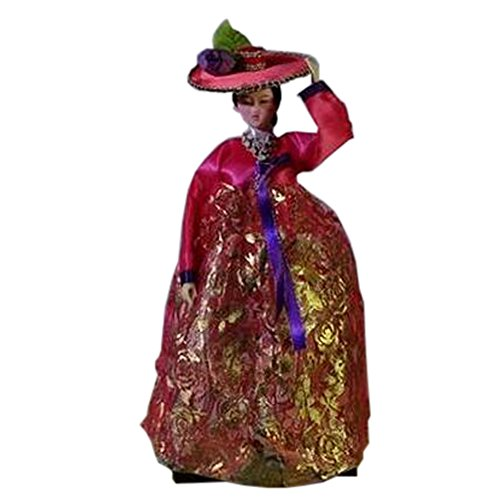 Beau ameublement Costume Ancient Doll Oriental Doll articles, No.9