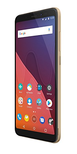 Wiko VIEW 16GB+3GB Smartphone portable débloqué 4G (Ecran: 5,7 pouces - 16 Go - Double Micro-SIM - Android) Or