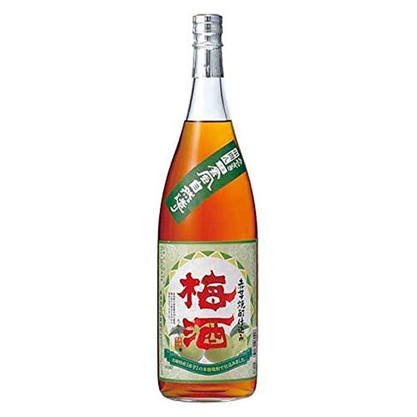 伸ばすもろいワーカー寿海 赤芋焼酎仕込梅酒 1.8L x 6本 [瓶] ?1ケース?[ケース販売][岡永/寿海酒造/宮崎県]