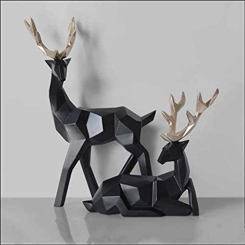 Muurbeugel dierenwandsculptuur, boutique IKEA kunsthandwerk innovatief geluk koe ornamenten beeld moderne eenvoudige versieringen innovatieve IKEA slaapkamer tv-kast sculptuur dierwand wanddecoratie