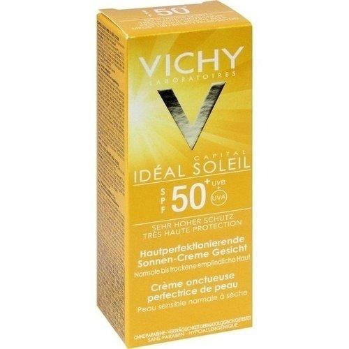 Vichy Idéal Soleil - Crema aterciopelada perfeccionadora con FPS 50+