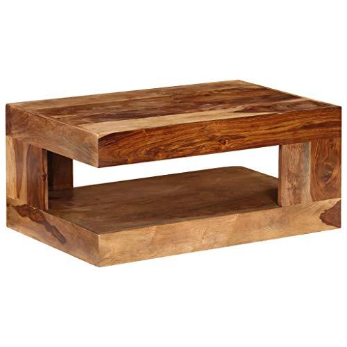 vidaXL Couchtisch Beistelltisch Kaffeetisch Tisch Massivholz Sheesham Palisander