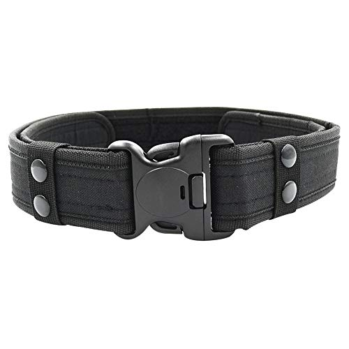 Tactical Safety Adjustable Strap Outdoor Cobra Belt With Heavy Plastic Buckle Military Police Duty Accessories Equipment