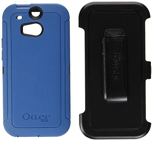 OtterBox 77-39247 'Defender Series' Protective Case for HTC One M8 Phone - Blueprint (Retail Packaging from OtterBox) (Renewed)