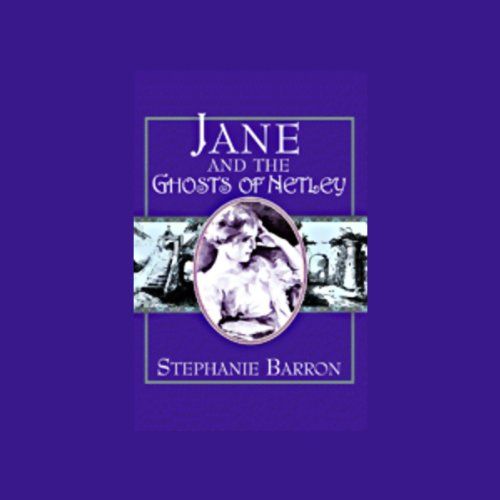 Jane and the Ghosts of Netley audiobook cover art