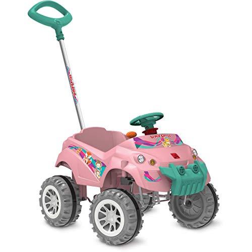 Veiculo Para Bebe, Brinquedos Bandeirante, Rosa