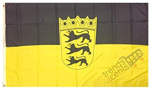XXL Flagge Fahne Deutschland Baden-Württemberg 150 x 250 cm