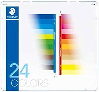 ステッドラー ノリスクラブ色鉛筆 メタルケース入り24色セット 145 M24-2