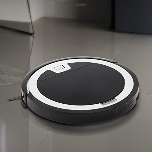 Stofzuiger Robot Ultradunne Floor Vegen Robot Thuis Automatische Intelligente Stofzuiger Mopping Machine Gyro Navigation (Color : Black)