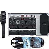 Zoom V6 - Dispositivo di effetti per canto con processore vocale + cavo XLR da 6 m