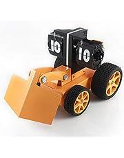 Scra AC Relojes de Reloj Joyería del Regalo De La Decoración del Excavador del Reloj De Torneado Modelo del Vehículo De La Construcción