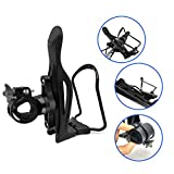 JIANKUN Adjustable Bike Water Bottle Cage,Lightweight Aluminum Alloy Bicycle Water Bottle ...