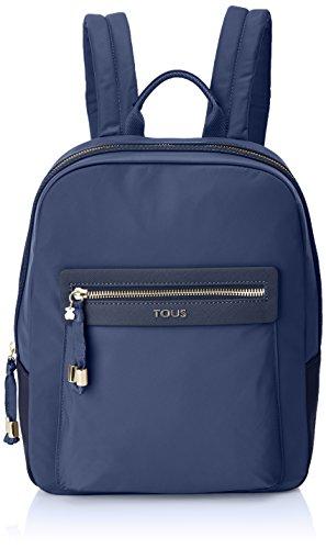 TOUS 695810086, Bolso mochila para Mujer, Azul (Marino), 26x33x9.5 cm (W x H x L)