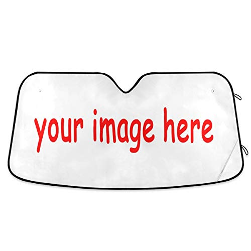 senya Custom Car Windshield Sunshade, Turn Your Photo Into Window Sunshades, Blocks Sun Visor Protector Foldable Sun Shield Keep Your Vehicle Cool