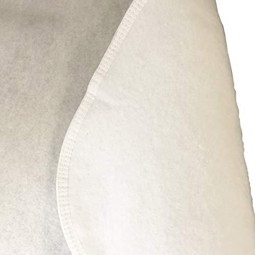 Webwarenhaus Laratex Matratzenunterlage Filzschoner atmungsaktiv   Für Lattenrost, 100% Polyester-Nadelfilz Matratzenauflage (140 x 200cm)