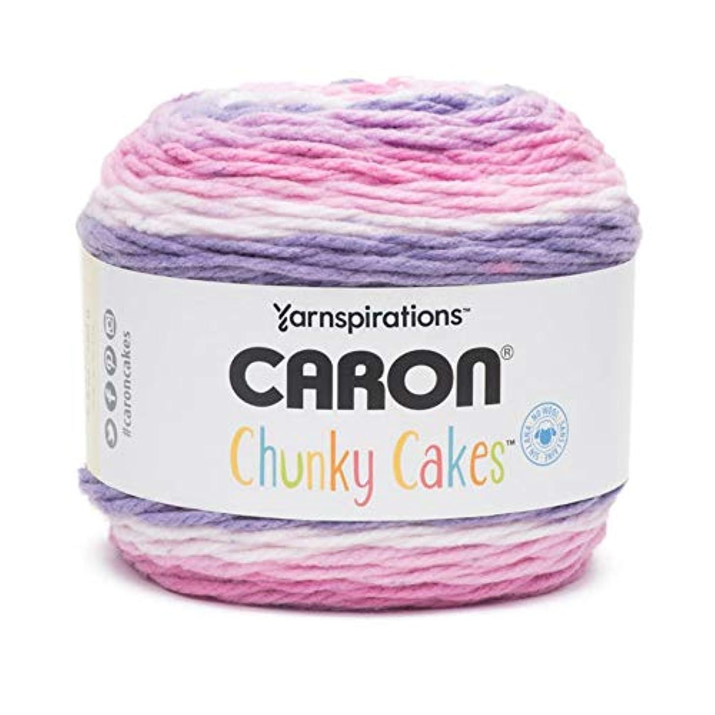 Caron Chunky Cakes Self Striping Yarn 297 yd/271 m 9.8 oz/280 g (Ballet Sorbet)