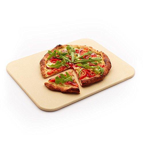 Peter schattige broodbak/pizzasteen 38 x 35 cm rechthoekig cordieriet