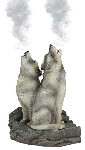 wolf cone incense burner - 4